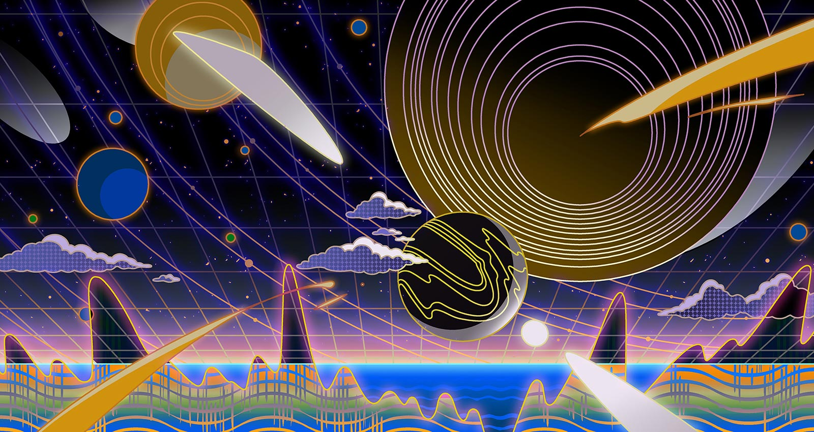 Lost in Space Music : Records That Explore the Outer Limits