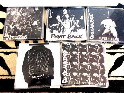 "Discharge - 7"" Vinyl bundle main photo"