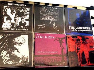 "Varukers - 7"" vinyl set main photo"