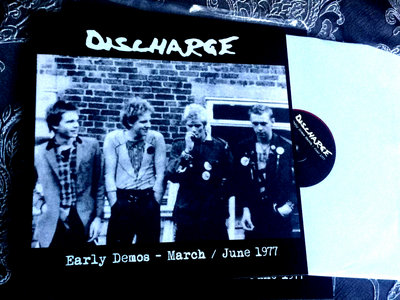 Discharge - Early Demos LP (red vinyl) main photo