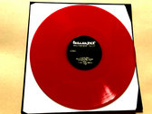 Discharge - Early Demos LP (red vinyl) photo