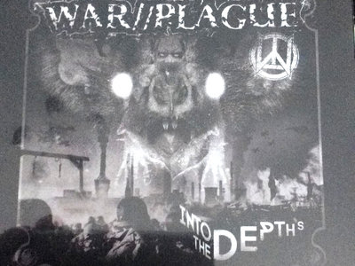 War//Plague - Into The Depths CD main photo