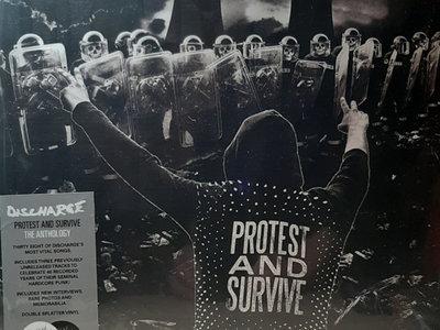 Discharge - Protest and Survive - 2LP splatter vinyl main photo