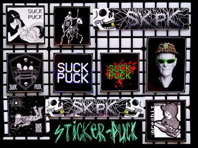 Sticker Suck Puck v.2 (10 stickers) main photo