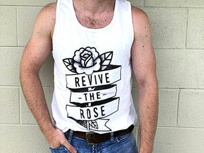 Revive the Rose - Mens Tanks (White) main photo