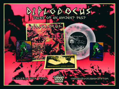 """Diplodocus - Tales of an Ancient Past - CLEAR 7"""" main photo"""