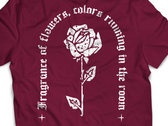 """Red T-shirt """"Rose"""" photo"""