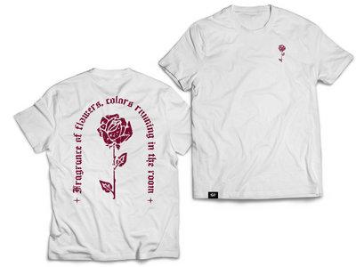"White T-shirt ""Rose"" main photo"