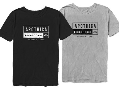 Apothica Dark Moon T-shirt (in Black and Gray) main photo