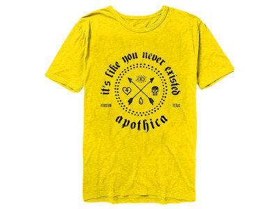 Apothica - Amnesia T-Shirt (Yellow) main photo