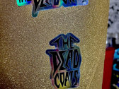 The Dead Coats Logo Stickers (Pack of 3) Includes Holographic, Metallic, and Graphic sticker photo