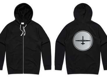Limited Edition Negative Drone Zip Hoodie main photo
