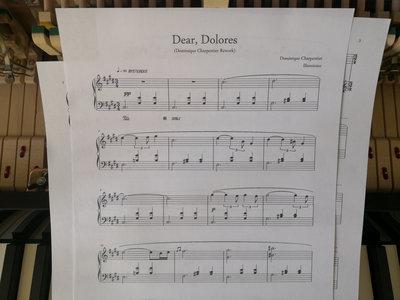 """""""Dear, Dolores (Dominique Charpentier Rework)"""" Piano Sheet main photo"""