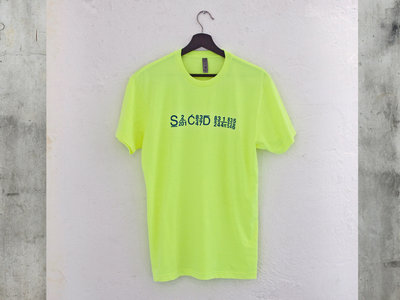 2021 Summer Line of Limited Edition Sacred Rhythm Tee's - Bright Yellow main photo