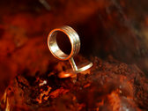 Limited Edition Silver Signet Ring with Emblem photo