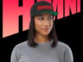 HMNI Embroidered Flat Bill Snap Back Hat photo