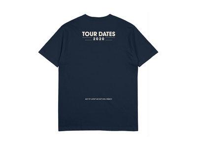 "Date Night ""No Tour Dates"" Tee in navy main photo"