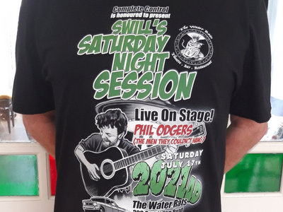 Swill's Saturday Session - WATER RATS - Tshirt main photo