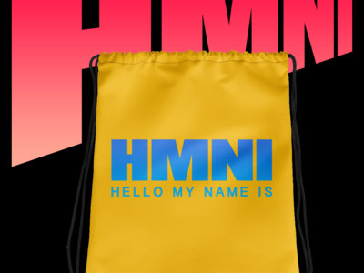 HMNI Blue On Yellow Gym Bag main photo