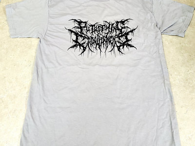 Gray Logo T-Shirt Putrefying Cadaverment main photo