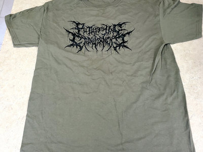 Green Logo T-Shirt Putrefying Cadaverment main photo