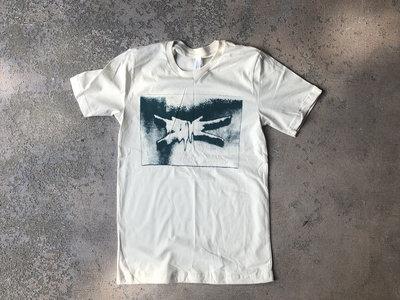 Stave Logo T-Shirt (Cream w/Green Ink) main photo