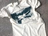 Stave Logo T-Shirt (Cream w/Green Ink) photo