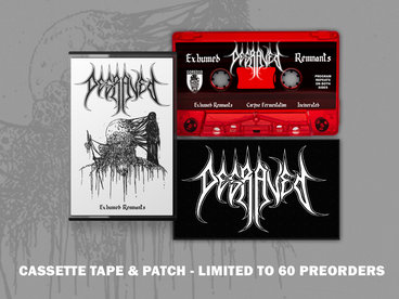 Limited Edition Cassette (2nd Press) - WITH WOVEN LOGO PATCH main photo