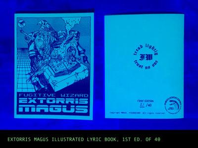 Fugitive Wizard - Extorris Magus: Lyric Book main photo
