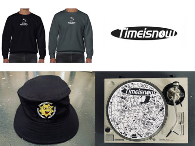 Time Is Now Merch Pack (Sweater, Slipmat, Bucket Hat) main photo
