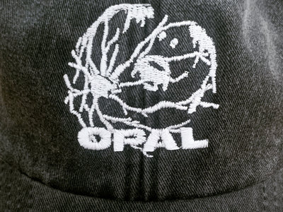 - Eyeworld Cap (Vintage Black / Grey) PRE ORDER main photo