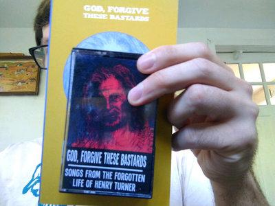 God Forgive These Bastards tape and book main photo