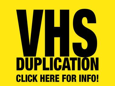 PROFESSIONAL VHS DUPLICATION main photo