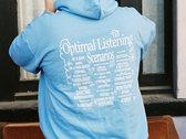 Optimal Listening Scenarios Hoodie (Blue) photo