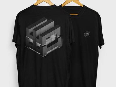 EXITLIMITEDTEE006 Black - Cubed Logo main photo
