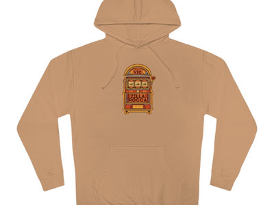 Vegas Vic Sand Colored Unisex Hoodie - ONLY 15 MADE main photo
