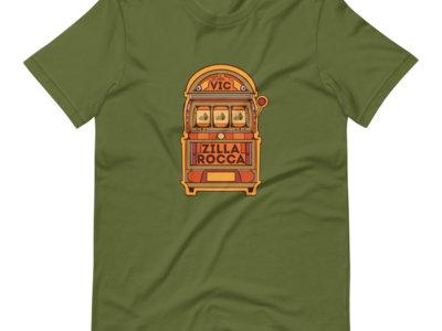 Vegas Vic Unisex Olive T-Shirt ONLY 15 MADE main photo