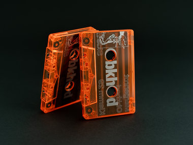 Orange Translucent Neon Cassette + Sticker Pack main photo