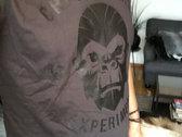 Gorilla Head Tee (Black/White) photo