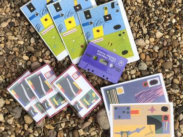 Limited Edition Cassette, Riso Zine & Art Postcard main photo