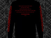 """BESTIAL TONGUES """"DECONSECRATED"""" LONGSLEEVE (2XL-3XL) - PRE-ORDER photo"""