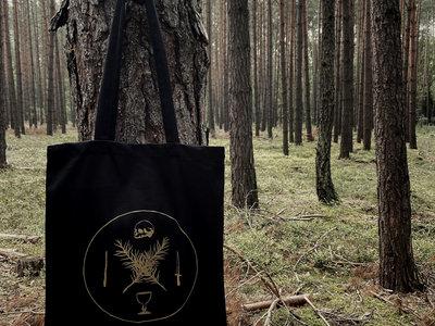 By The Spirits sigil tote bag main photo