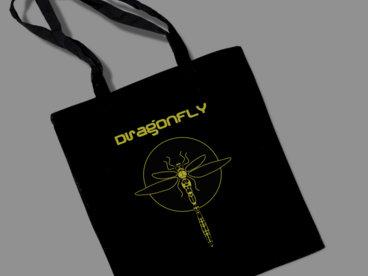 Dragonfly Logo Large Tote/Record Bag main photo