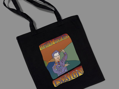 *Limited Edition* YOUTH Timothy Leary 'Acid Tai Chi' Organic Cotton Large Tote/Record bag main photo
