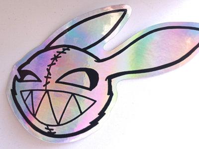 Murder Bunny Holo-Sticker main photo