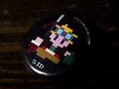 8-bit Character Buttons photo