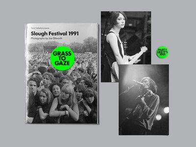 Grass To Gaze: Slough Festival 1991 by Joe Dilworth – book – SCR237 main photo