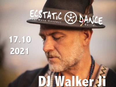 TICKET: Ecstatic Dance   17 October   DJ WALKER JI main photo