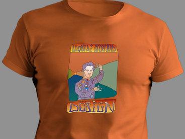 *Limited Edition* YOUTH hand drawn Timothy Leary 'Acid Tai Chi' - 100% Organic T-shirt main photo