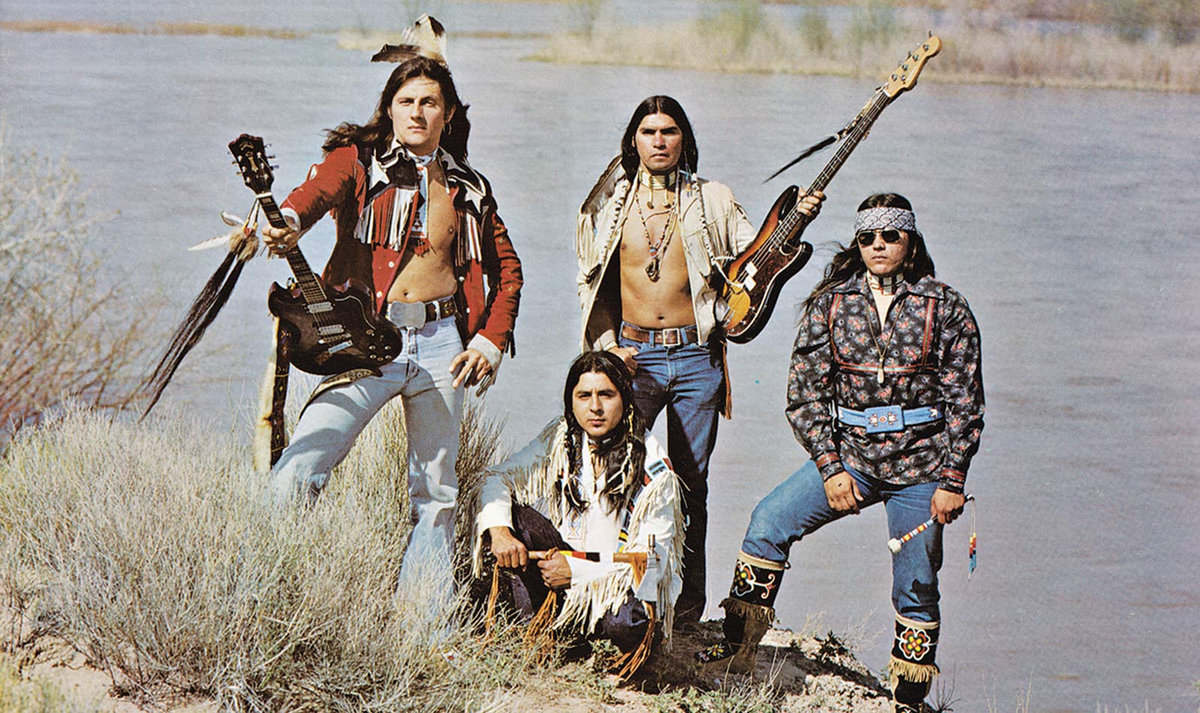 The Story of Native American Metal Band Winterhawk